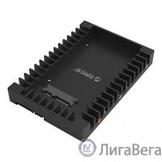 ORICO 1125SS-BK Салазки для подключения HDD 2,5'' в отсек HDD 3,5'' (черный)
