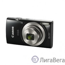 Canon IXUS 185 черный {20Mpix Zoom8x 2.7″ 720p SD CCD 1x2.3 IS el 1minF 0.8fr/s 25fr/s/NB-11LH}