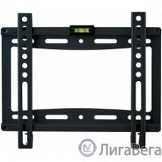 Kromax IDEAL-5 new black,  Кр. стал. наст. для TV 15″-47″, max 35 кг, 0 ст св., от ст. 20 мм, max VESA 200x200 мм.