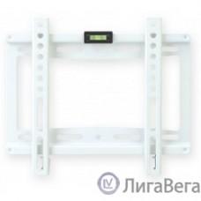 Kromax IDEAL-5 new white, Кр. стал. наст. для TV 15″-47″, max 35 кг, 0 ст св., от ст. 20 мм, max VESA 200x200 мм.