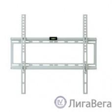 Kromax IDEAL-3 new white, Кр. стал. наст. для TV 22″-65″, max 50 кг, 0 ст св., от ст. 23 мм, max VESA 400x400 мм.