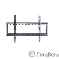 Kromax IDEAL-1 new black,  Кр. стал. наст. для TV 32″-90″, max 55 кг, 0 ст св., от ст. 23 мм, max VESA 600x400 мм.