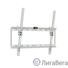 Kromax IDEAL-4 new white, наст. для TV 22″-65″, max 50 кг, 1 ст св., нак. 0°-10°, от ст. 23 мм, max VESA 400x400 мм.