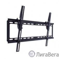 Kromax IDEAL-2 new black, наст. для TV 32″-90″, max 55 кг, 1 ст св., нак. 0°-10°, от ст. 23 мм, max VESA 600x400 мм.