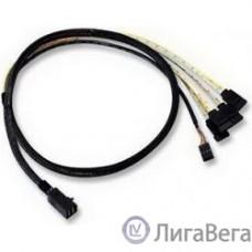 LSI ACD-SFF8643-SATASB-10M  Кабель , INT SFF8643-to-4*SATA+SB ( HDmSAS -to- 4*SATA+SideBand internal cable) 100cm[6705050100]