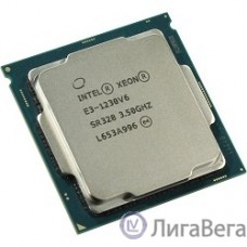 CPU Intel Xeon E3-1230v6 Kaby Lake OEM {3.5ГГц, 8Мб, Socket1151}