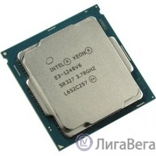 CPU Intel Xeon E3-1240v6 Kaby Lake OEM {3.7ГГц, 8Мб, Socket1151}