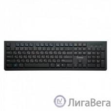 Клавиатура проводная мультимедийная Slim Smartbuy 206 USB черная [SBK-206US-K]