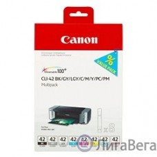 Canon CLI-42 6384B010 Картридж для PIXMA PRO-100, Multi Pack 8-inks (BK/C/M/Y/PM/PC/GY/LGY)