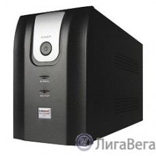 CROWN ИБП CMU-1000XIEC {1000VA/700w; Line Interactive; 6 х IEC 320; 12V7AH х 2; Металл}