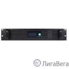 SVC, RTO-1.5K-LCD ИБП, Л-И., 1.5кВА/0.9кВт, Вход:220В, AVR:165-270В, Вых.:220В±10%, 50/60±0.5Гц, АКБ 2*12В/9Ач,LCD-дисплей, 2U, Стоечный 19
