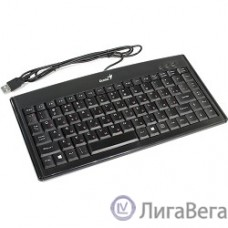 Genius LuxeMate 100 Black {компактная, влагоустойчивая, клавишь 88, провод 1,5 м, USB} [31300725102]