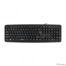 CBR KB 109 Black USB {Клавиатура, 104 кл., офисн., переключение языка 1 кнопкой (софт), USB. Длина кабеля 1,8м}
