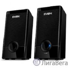 SVEN 318 черный {USB-порт ПК, ноутбука или адаптер 5V DC}