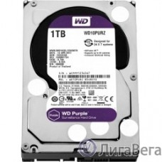 1TB WD Purple (WD10PURZ) {Serial ATA III, 5400- rpm, 64Mb, 3.5″}