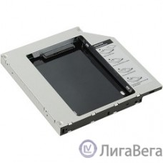 AgeStar SSMR2S Сменный бокс для HDD/SSD  SATA-SATA, металл-пластик, черный, 2.5″