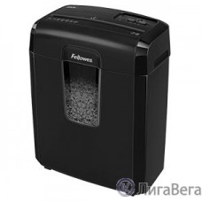 Fellowes Шредер Microshred 8MC FS-4692501 {DIN P-4/P-5, 3х10мм, 8лст., 14лтр.,уничт.: скобы, пл.карты}