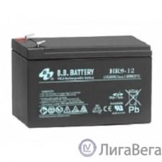 B.B. Battery Аккумулятор HR 9-12 (12V 9(8)Ah)