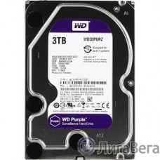 3TB WD Purple (WD30PURZ) {Serial ATA III, 5400- rpm, 64Mb, 3.5″}