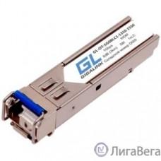GIGALINK GL-OT-SG08LC1-1310-1550-D Модуль SFP, WDM, 1Гбит/c, одно волокно SM, LC, Tx:1310/Rx:1550 нм, DDM, 8 дБ (до 3 км)