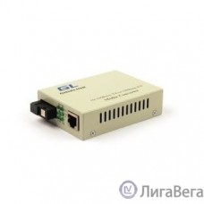 GIGALINK GL-MC-UTPF-SC1F-18SM-1550-N Конвертер из UTP, 100Мбит/c в WDM, без LFP, SM, SC, Tx:1550/Rx:1310, 18 дБ (до 20 км)