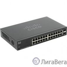 Cisco SB  SG112-24 Коммутатор 24-портовый, гигабитный COMPACT 24-port Gig Switch-2 Mini-GBIC Ports