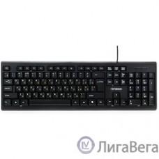 Гарнизон Клавиатура GK-120, USB, черный, поверхность- карбон