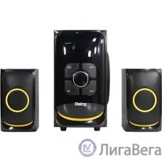Dialog Progressive AP-208 BLACK - акустические колонки 2.1, 30W+2*15W RMS,Bluetooth,FM,USB+SD reader