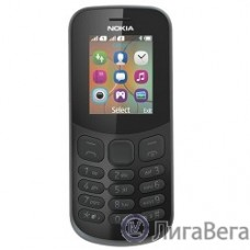 NOKIA 130 DS TA-1017 BLACK (2017) [A00028615] {1.8'' 160x128,MicroSD,2 Sim, BT}