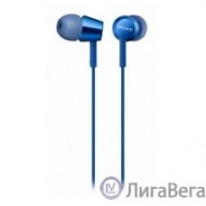 Sony MDREX155APLI.E 1.2м синий проводные (в ушной раковине)