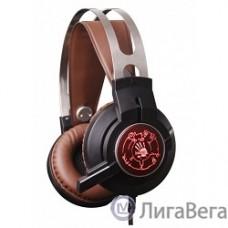 A4 Bloody G430 черный/коричневый 2.3м мониторы оголовье