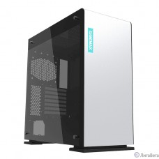GameMax Корпус [9909(909) VEGA Tempered Glass White] без БП (Midi Tower, ATX, White)