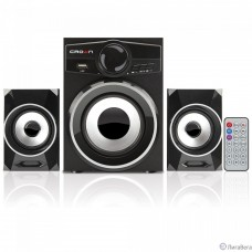 Акустическая система 2.1 CROWN CMBS-160 (МДФ, Bluetooth, 8W+4W*2=16W; приёмник FM; картридер; интерфейс USB; IR пульт)