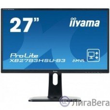 IIYAMA 27″ XB2783HSU-B3 черный {VA LED 1920x1080 4ms 16:9 3000:1 300cd 178гр/178гр D-Sub DisplayPort HDMI}