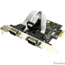 Espada Контроллер PCI-E, 2S port, MCS9922, FG-EMT03C-1-BU01, oem (38478)