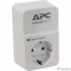 APC PM1W-RS Сетевой фильтр 1 розетка,16A, белый