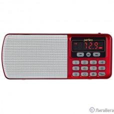 Perfeo радиоприемник цифровой ЕГЕРЬ FM+ 70-108МГц/ MP3/ питание USB или BL5C/ красный (i120-RED) [PF_5026]