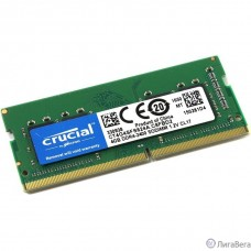 Crucial DDR4 SODIMM 4GB CT4G4SFS824A PC4-19200, 2400MHz