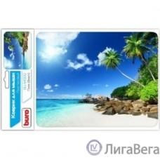 Коврик для мыши Buro BU-M10012 рисунок/пляж [291843]