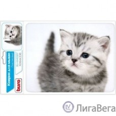 Коврик для мыши Buro BU-M40087 рисунок/котенок [291848]