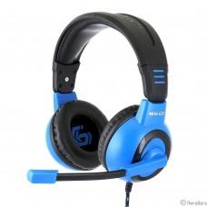 Gembird MHS-G50, код ″Survarium″, черн/син, рег. громкости, откл. мик, кабель 2.5м