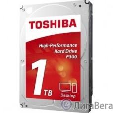 1TB Toshiba P300 (HDWD110EZSTA) {SATA 6.0Gb/s, 7200 rpm, 64Mb buffer, 3.5″}