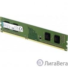 Kingston DDR4 DIMM 4GB KVR24N17S6/4 PC4-19200, 2400MHz, CL17