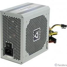 Chieftec 700W OEM (GPC-700S) {ATX v.2.3,КПД > 80%, A.PFC, 2x PCI-E (6+2-Pin), 6x SATA}