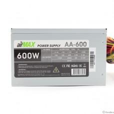 AirMax AA-600W Блок питания 600W ATX (24+4+6пин, 120mm (SCP)\(OVP)\(OCP)\(UVP)\ATX 12V v.2.3)