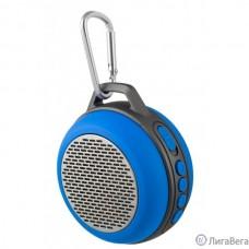 Perfeo Bluetooth-колонка PF-BT-SOLO-BL ″SOLO″ FM, MP3 microSD, AUX, мощность 5Вт, 600mAh, синя