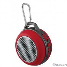 Perfeo Bluetooth-колонка PF-BT-SOLO-RD ″SOLO″ FM, MP3 microSD, AUX, мощность 5Вт, 600mAh, красная PF_5206