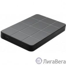 AgeStar 3UB2P1(6G) USB 3.0 Внешний корпус 2.5″ SATAIII HDD/SSD пластик, чёрный [06992/14661]