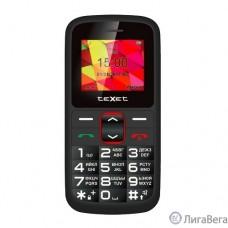 TEXET ТМ-B217 мобильный телефон цвет черный-красный