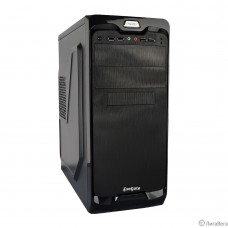 Exegate EX269439RUS Корпус Miditower UN-604 Black, ATX,  2*USB+2*USB3.0, Audio